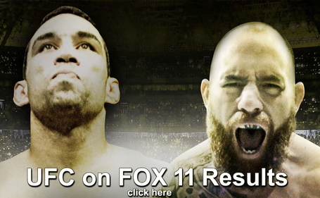 UFC on FOX 11 Results