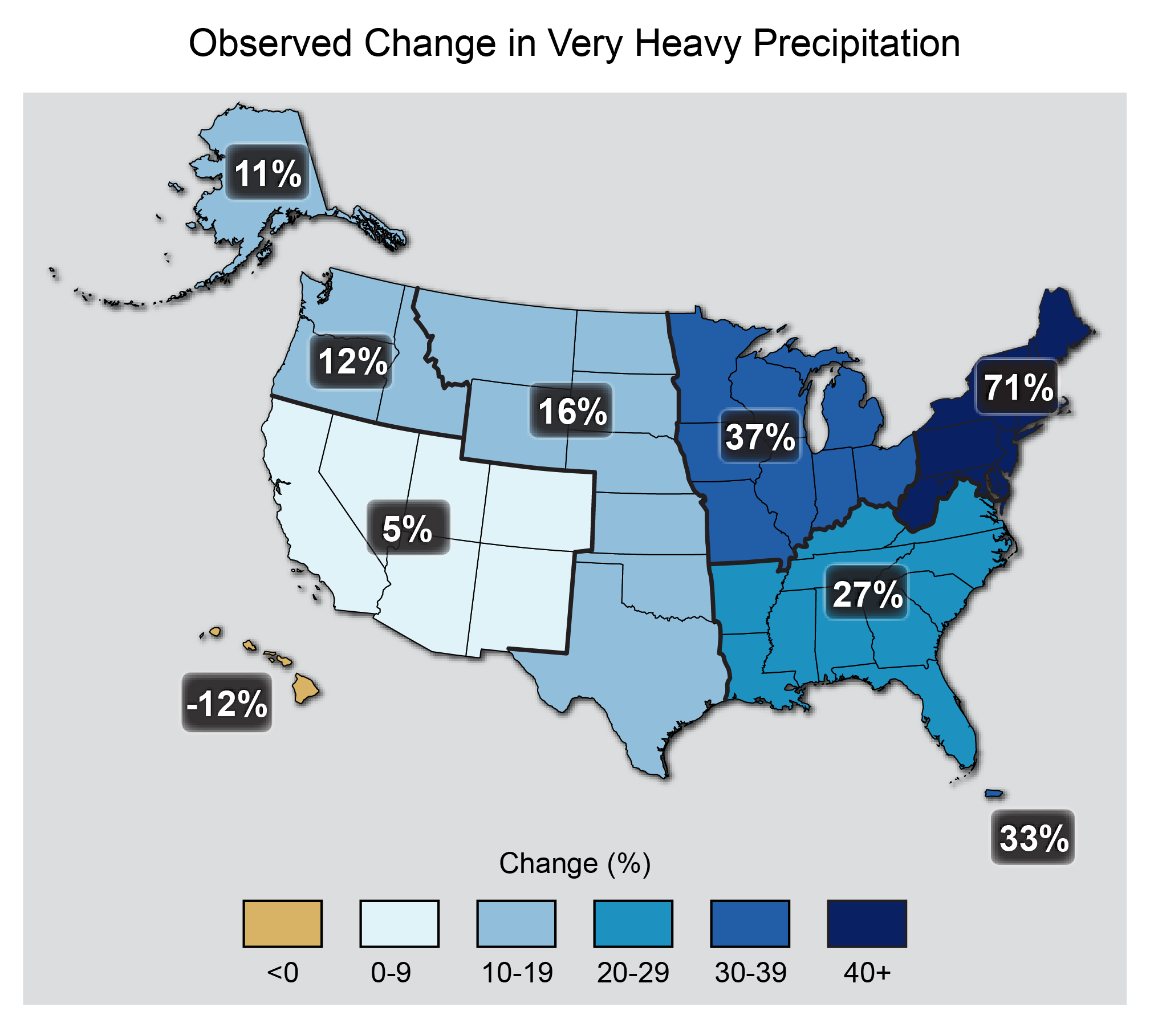 Nine Maps That Show How Climate Change Is Already Affecting The US - Us map climate