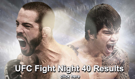 UFC Fight Night 40 Results