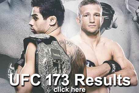 UFC 173 Results