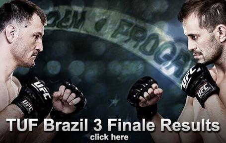 TUF Brazil 3 Results