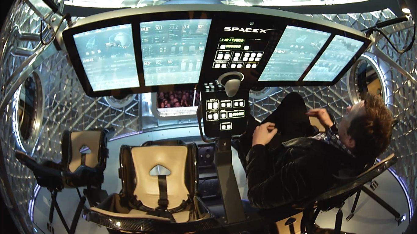 next manned spacecraft interior - photo #18