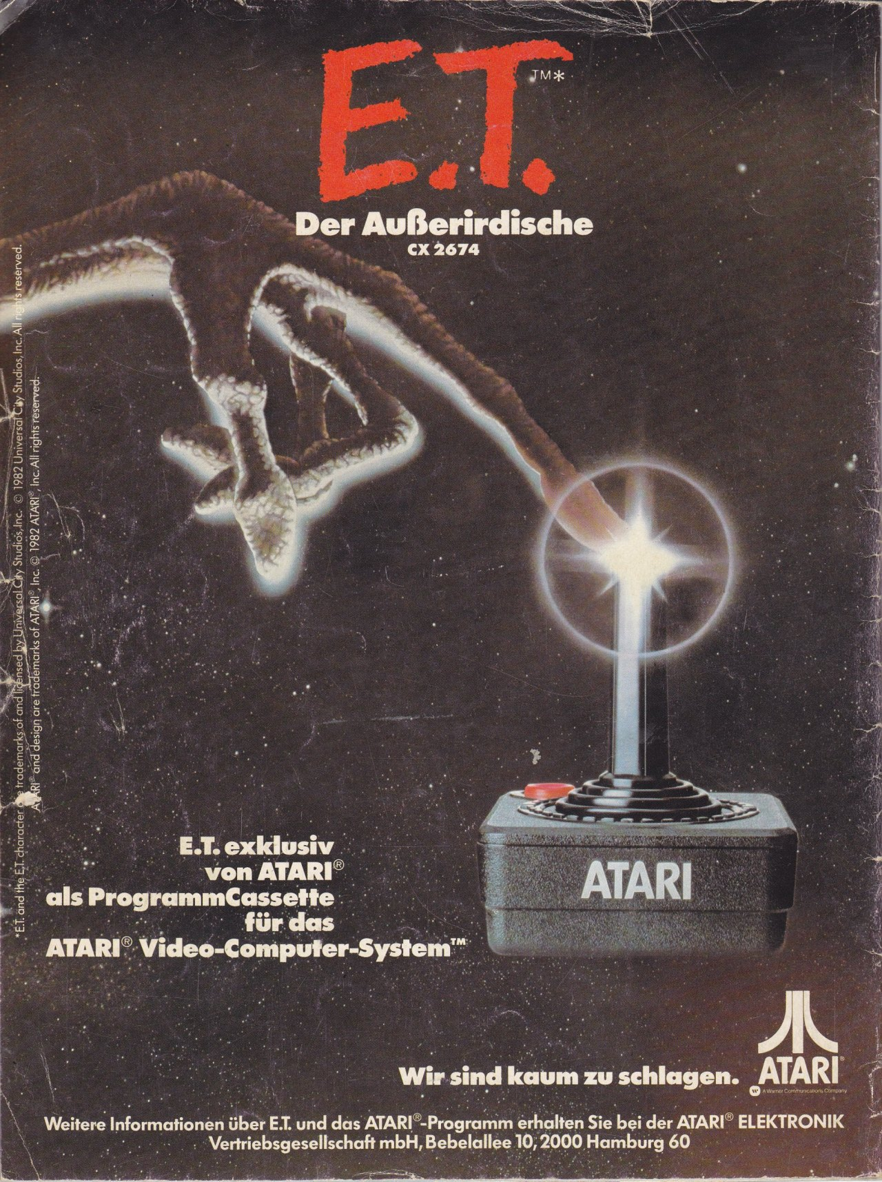 The Vintage E T Ads And Commercials Atari Used To Try And
