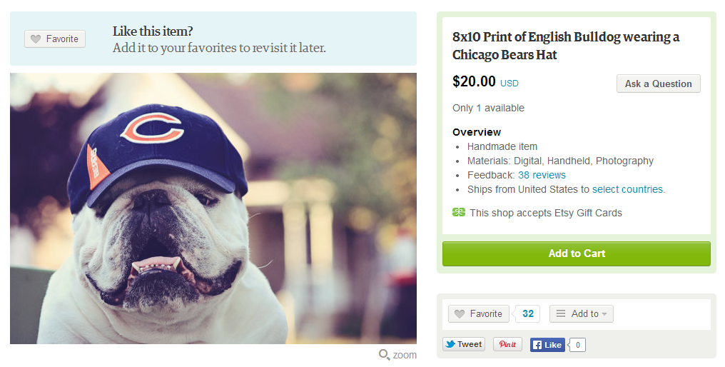 f35372708b7 You can buy some weird Chicago Bears stuff on Etsy - Windy City Gridiron