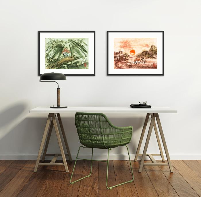 Okami-desk