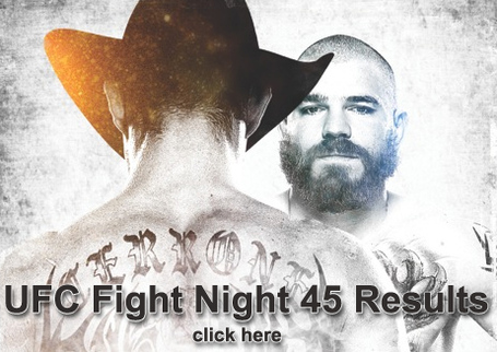 UFC Fight Night 45 Results