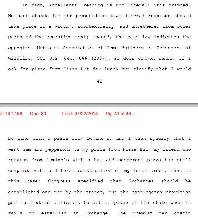 the most delicious part of today u0026 39 s obamacare rulings