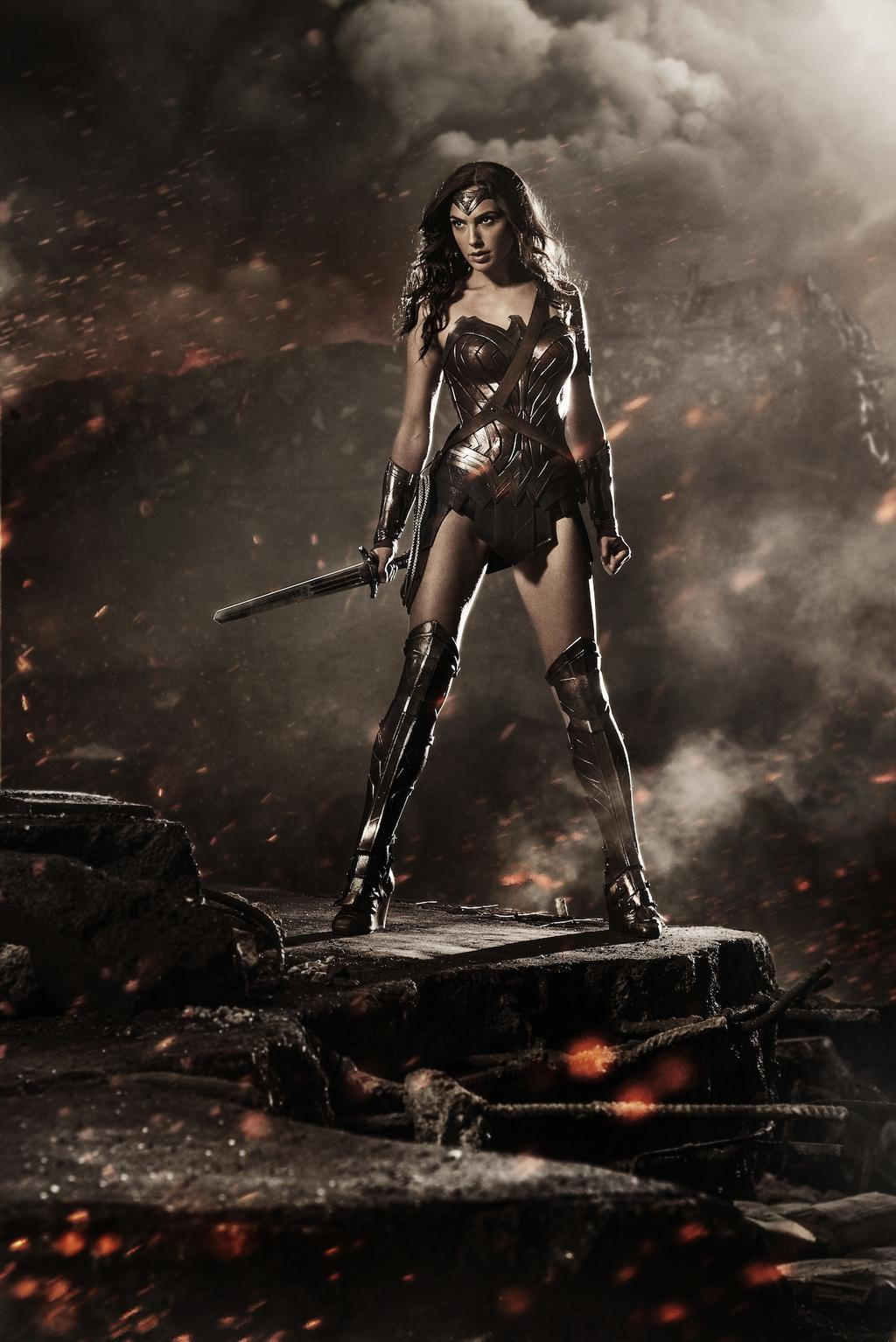 Gal Gadot as Wonder Woman in Batman V Superman Dawn of Justice