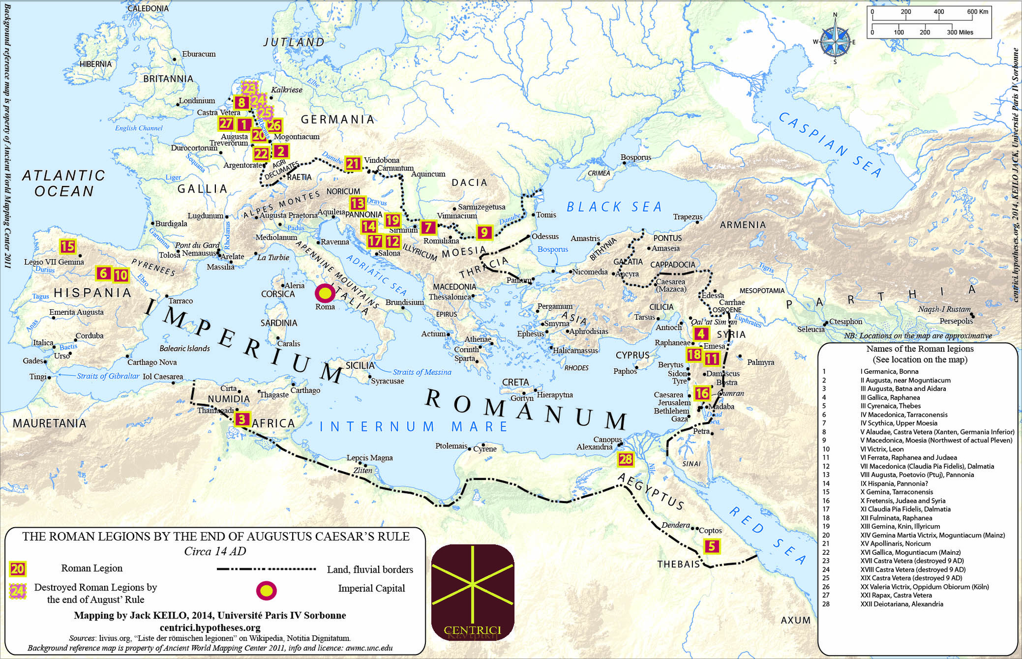 39 maps that explain the roman empire vox how augustus tamed the roman legions publicscrutiny Choice Image
