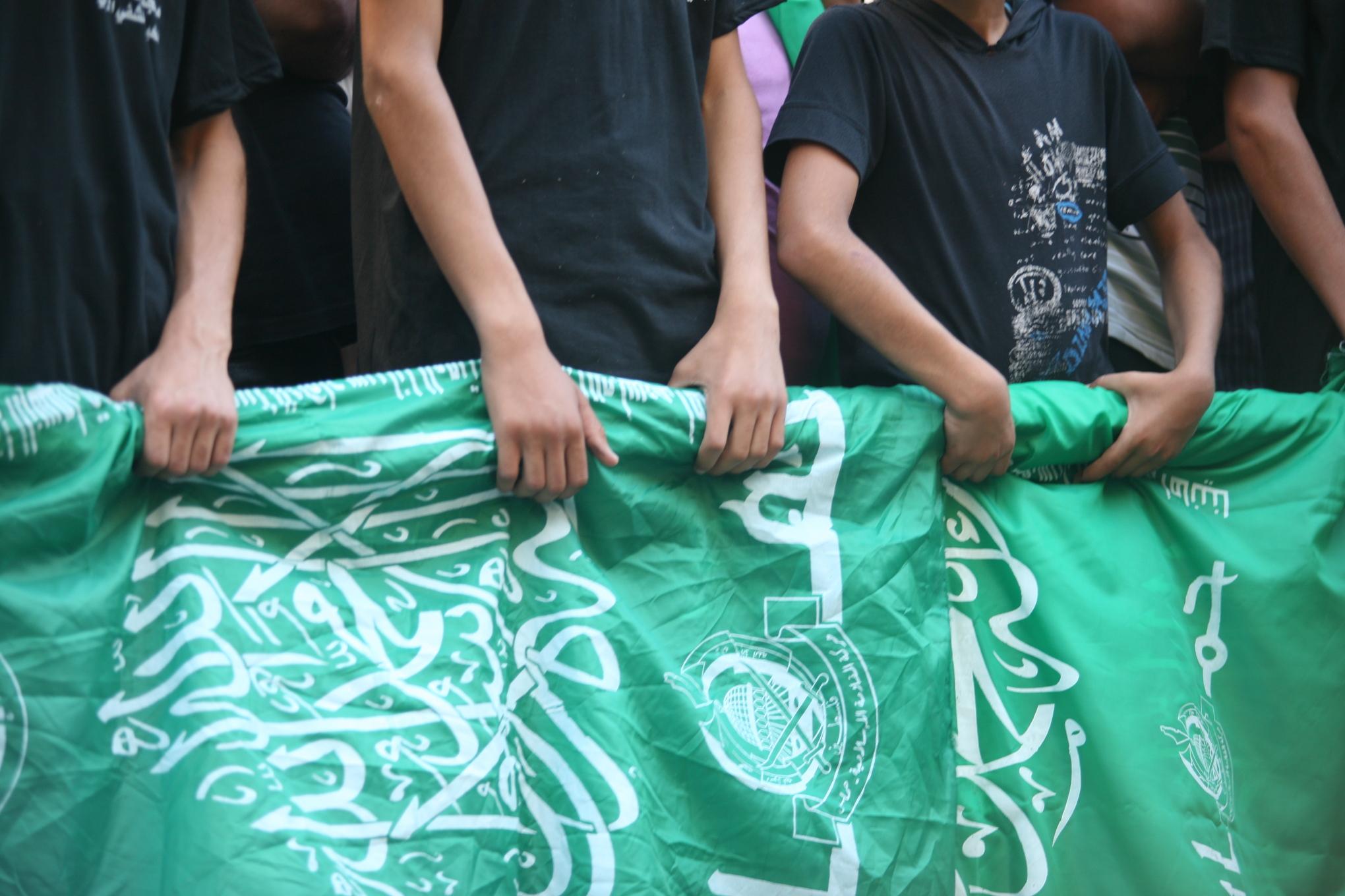 Children_hamas_flag