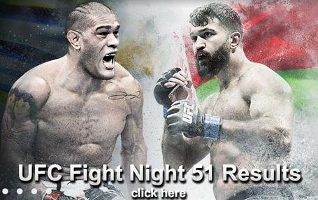 UFC Fight Night 51 Results