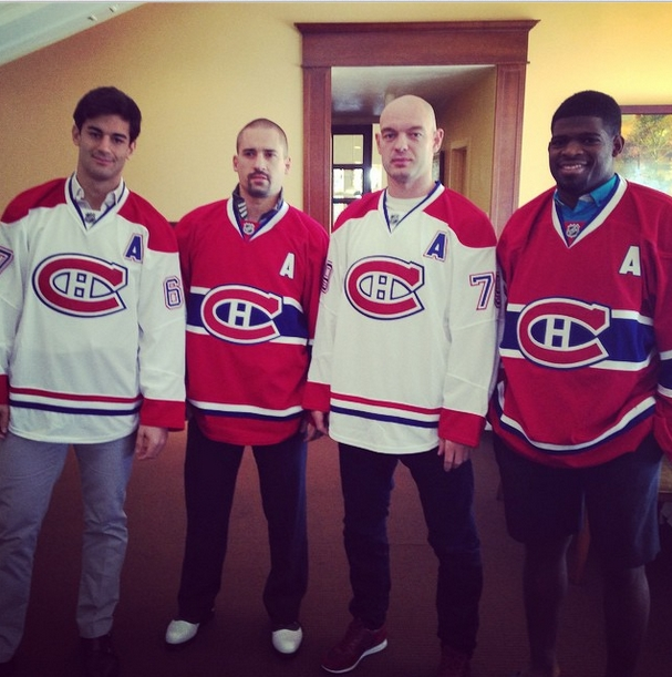new product 7670c 18653 Canadiens announce their alternate captains, no one will ...