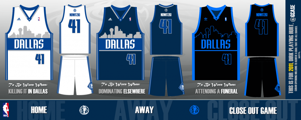 b2c35adc7570 Mavericks introduce new alternate jerseys with Dallas skyline for ...