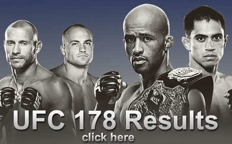 UFC 178 Results