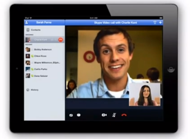how to kick people from video call skype