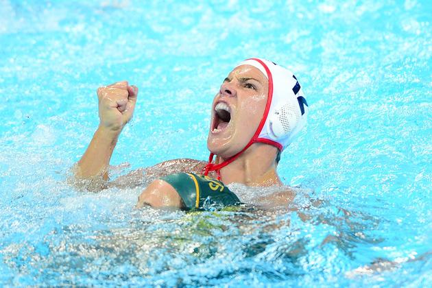 Brazil Women's Water Polo Team