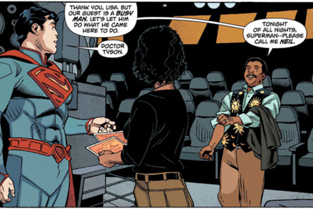 Neil Degrasse tyson superman DC COMICS