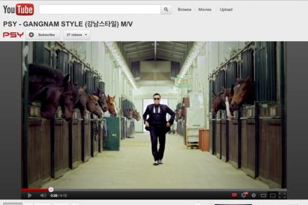 Gagnam Style YouTube