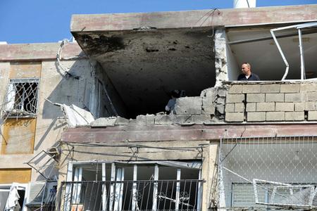 Israel rocket strike credit: The Israel Project