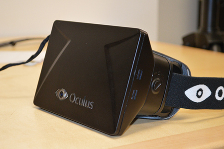 Oculus Rift headset prototype