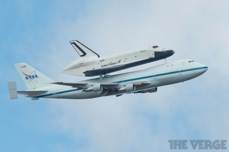 NASA shuttle Enterprise