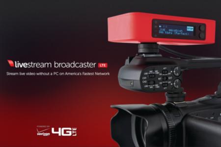 Livestream Broadcaster LTE