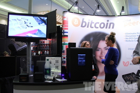bitcoin booth