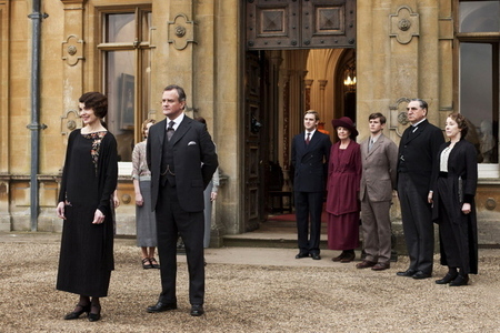 Downton Abbey press