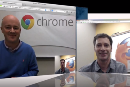 FF and Chrome WebRTC chat