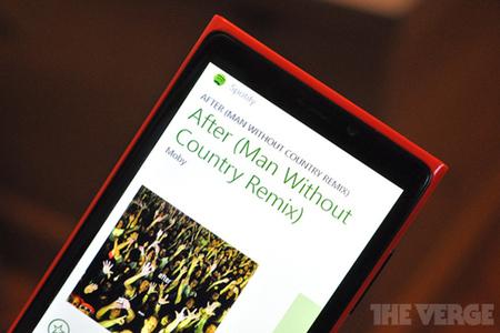 Spotify Windows Phone 8 stock