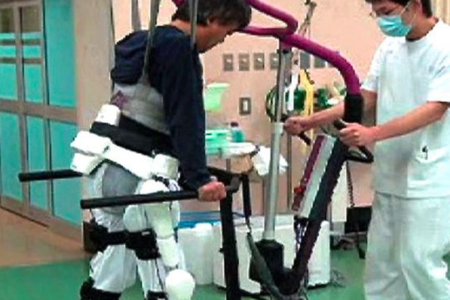 HAL rehabilitation robotic suit