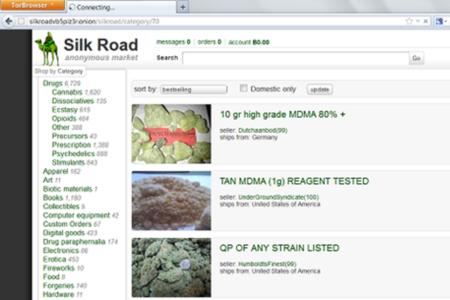 silk road screenshot