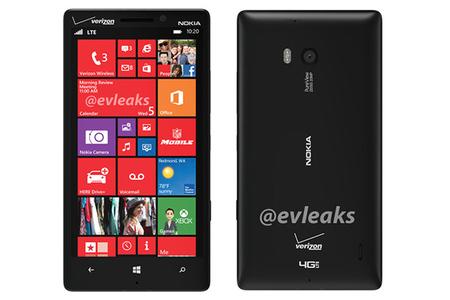 Lumia 929 rear (evleaks)
