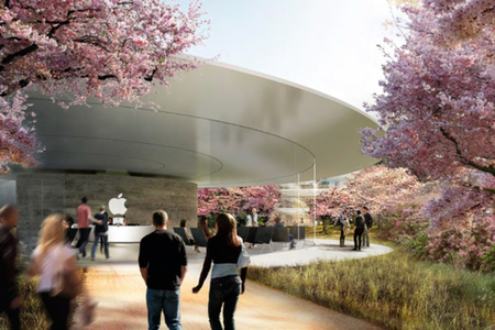 Apple campus render