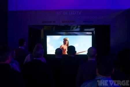 Sharp 85 inch 8K TV