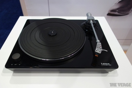 Lenco glass top turntable