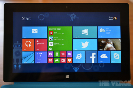Windows 8.1 stock