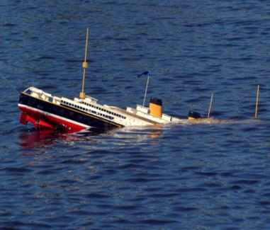 On September 14  2008 this was Sinking Ship Image