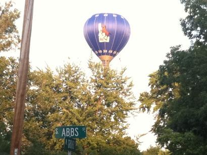 Boisestateballoon