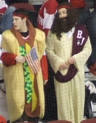 Bu-students-as-jesus-and-a-patriotic-hot-dog