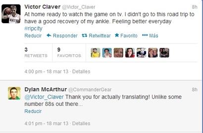 Claver-tweet