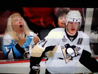 Penguins_crazy_lady_fan