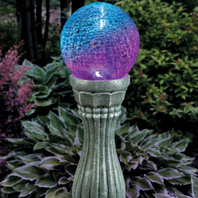 Color-changing Gazing Ball