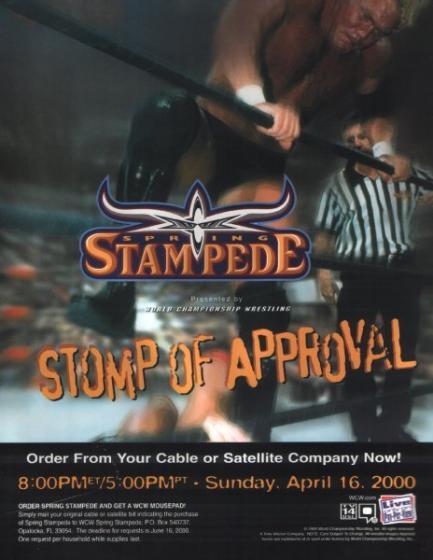 Image result for wcw spring stampede 2000