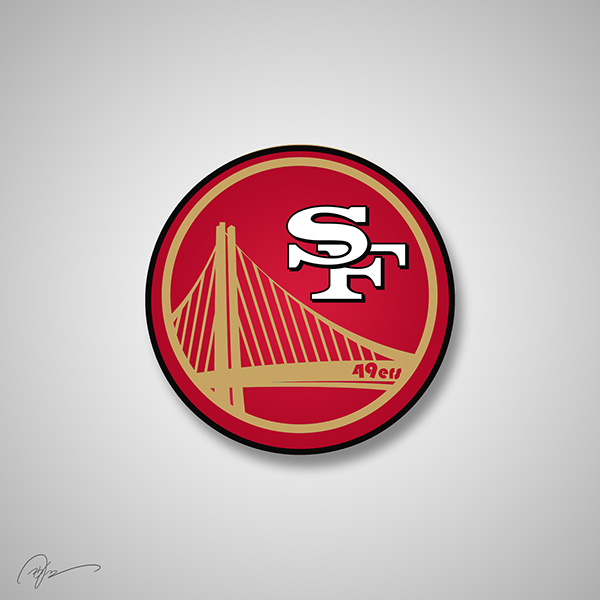 When Do Warriors Move To San Francisco: NFL Team Logos Re-imagined As Corporations, Crossed With