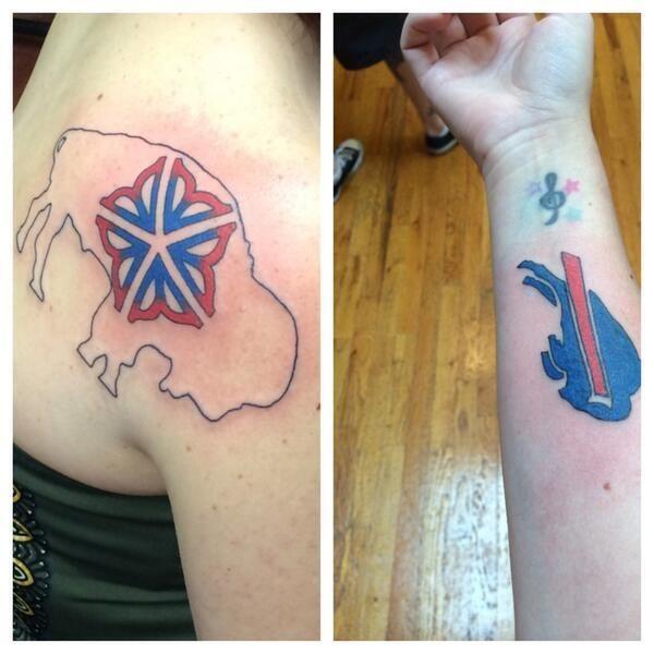 Buffalo Bills Body Art And Tattoos Buffalo Rumblings