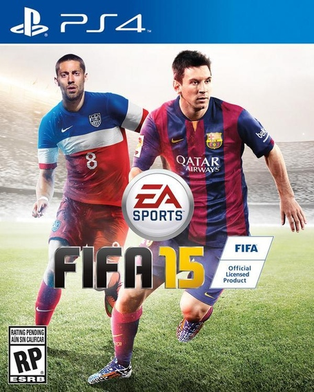 There's something off about the cover of FIFA15