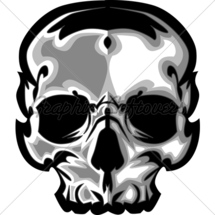 Skull-graphic-vector-image