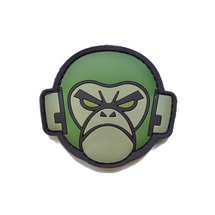 Angry_monkey_green_pvc_velcro_milspec_monkey_morale_patch