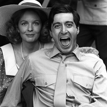 Diana-keaton-and-al-pacino-during-the-filming-of-the-godfather